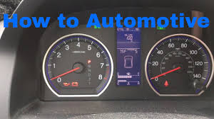 how to reset the maintenance light on a toyota corolla how to reset the maintenance light on a 2007 2012 honda cr v