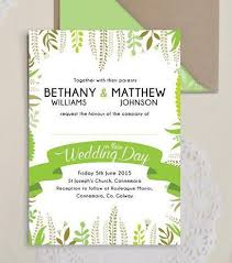 wedding invitations galway design our day wedding stationery is in the air
