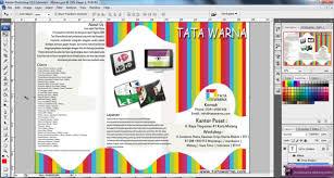 membuat poster photoshop cs3 cara membuat desain brosur dengan adobe photoshop youtube