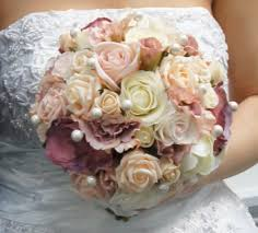 silk bridal bouquets silk flower bouquets for weddings amazing of wedding flower