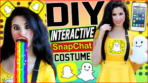 This Is My Halloween Costume Shirt by Diy Interactive Snapchat Costume Be The Snapchat App Puking