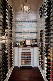 makeshift closet wine cellar