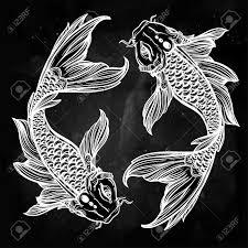 art deco koi fish border google search akoi kitchen