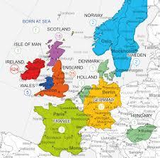 England On Map Map Of Europe In Irish Gaeilge Imgur With Ireland Grahamdennis Me