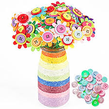 button flowers domeshine diy button flowers 40 flowers craft iron