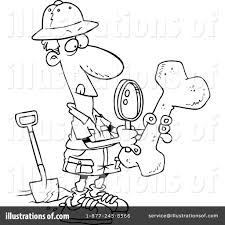 archaeology clipart 439565 illustration by toonaday