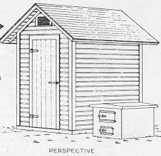 wood smoke house plans build a smokehouse with these simple free