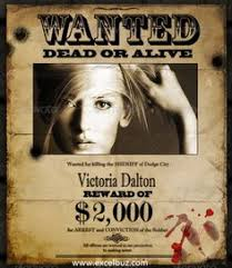 wanted poster template 1 positively printable pinterest
