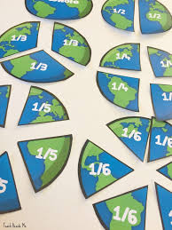 earth fractions earth day math teach beside me