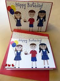 teacher birthdays three little birds stationery u0026 gifts