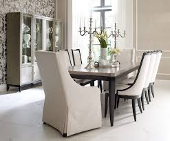 Dining Room Outlet Legacy Classic Symphony 7 Piece Rectangular Dining Set In Platinum
