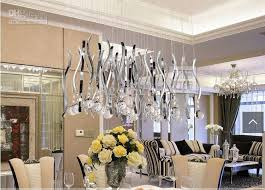 Emejing Modern Dining Room Lights Contemporary Room Design Ideas - Dining room crystal chandelier