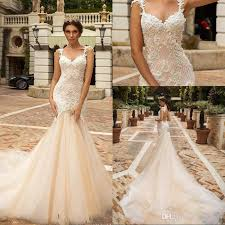 designer mermaid lace wedding dresses 2018 design bridal