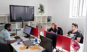 bureau partagé intencity bureaux à partager à louer clichy bureau coworking