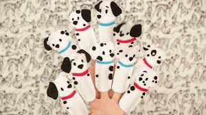 disney family 101 dalmatians finger puppets disney video