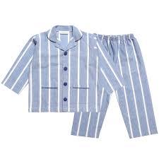 boys blue cotton parry pyjamas childrensalon