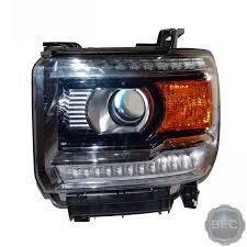 2015 gmc sierra fog lights 2014 2015 gmc sierra denali complete hid projector headlight
