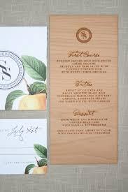 Engraved Wedding Invitations Elegant And Rustic Wood Engraved Wedding Invitations Response