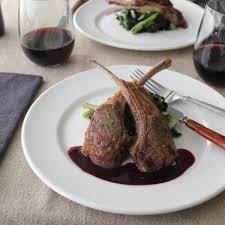 roasted rack of lamb with asparagus emerils com