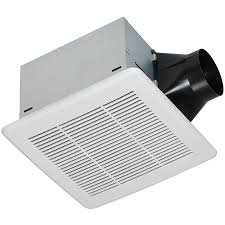 2100 Hvi Bathroom Fan Shop Utilitech 0 3 Sone 80 Cfm White Bathroom Fan Energy Star At