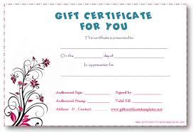 doc 736552 online gift certificate template u2013 the 25 best ideas
