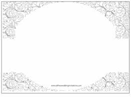 Blank Wedding Invitations Templates For Invitations Thevictorianparlor Co