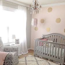 Pink And Grey Nursery Decor Glam Pink And Gold Nursery Via Peoniesandtwine Pink And Gold