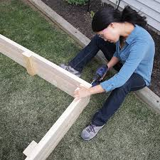 Build A Platform Bed With Cinder Blocks by How To Build A Raised Garden Bed