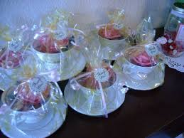 tea cup favors tea party tea cup party favors completed projects