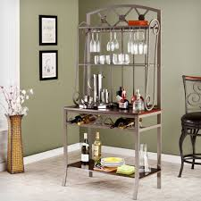 Metal Bakers Rack Elegant Metal Bakers Rack With Wine Storage Gallery Bakers Rack
