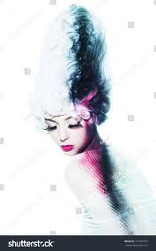 Beauty Garde Avantgarde Fashion Portrait Stock Photo 147153797 Shutterstock