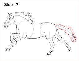 coloring mesmerizing draw horse horses head 3