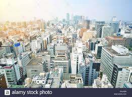 Modern City Panoramic Modern City Skyline Bird Eye Aerial View On Landmark