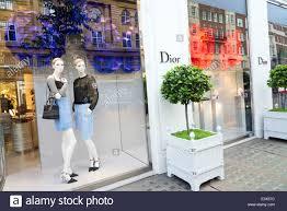 dior luxury designer clothes shop on sloane street london
