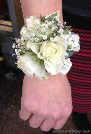white corsages for prom don t spoil your wedding with a pin get one of these