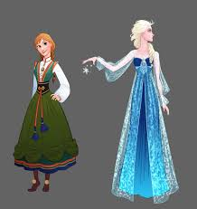 frozen anna elsa dress designs laurahollingsworth
