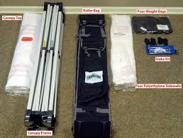 Awning Weights Craft Show 10x10 Canopy With Walls And Weight Bags Package