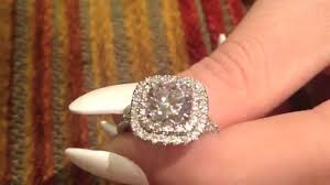 2 carat cushion cut diamond 2 carat rounded cushion cut engagement ring 8358
