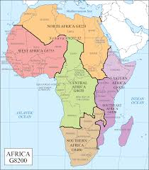 Map Of Africa With Countries Labeled by Lc G Schedule Map 33 Africa Regions Waml Information Bulletin