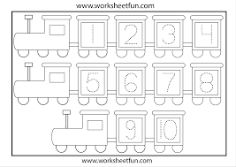 number tracing worksheets free worksheets library download and