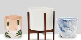 best planters 11 best modern indoor planters in 2018 and plant pots throughout
