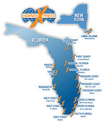 Florida Toll Road Map by Find Local Hornerxpress Branch Location