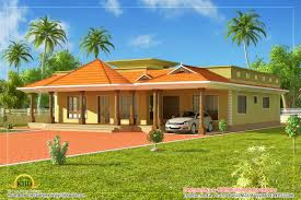 kerala style single floor house architecture 232 square meter