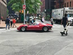 alfa romeo tipo 33 stradale on broad street in nyc 1 of 1 in the