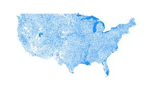 Map R I Made A Map Of All The U S Waterbodies Using R Oc