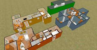 cargo container homes interiors sq ft shipping house plan home
