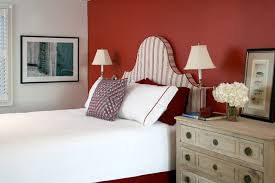 Red Bedroom Accent Wall - bedroom red accent wall bedroom