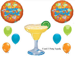 margarita clip art amazon com margarita cocktails happy birthday party balloons