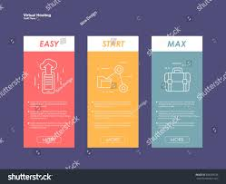 Table Ux by Set Tariffs Website Interface Site Ui Stock Vector 386659336