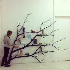 Tree Branch Bookshelf Diy Diy Tree Branch Shelves Pictures To Pin On Pinterest Pinsdaddy